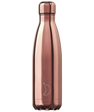 CHILLYS ΘΕΡΜΟΣ 500ml CHROME ROSE GOLD
