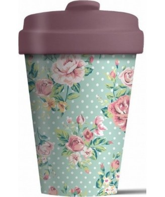 BAMBOO CUP VINTAGE ROSES BCP226