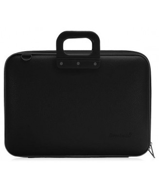 BOMBATA ΤΣΑΝΤΑ LAPTOP CLASSIC VINIL ( 15' ) ALL BLACK E00637