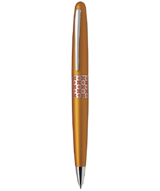PILOT ΣΤΥΛΟ POP PETRO 0.7 ORANGE FLOWER (BLUE INK)