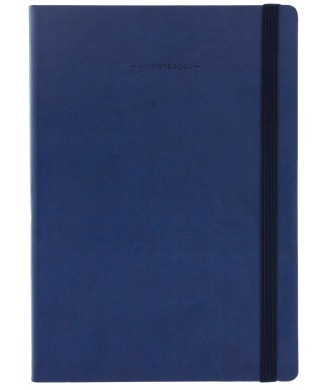 LEGAMI NOTEBOOK 17χ24 LARGE LINED BLUE MYNOT0063