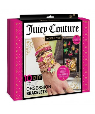 MAKE IT REAL JUICY COUTURE 10 FRUIT BRACELETS 4403