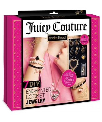 MAKE IT REAL JUICY COUTURE 7 LOCKET JEWELLERY 4405