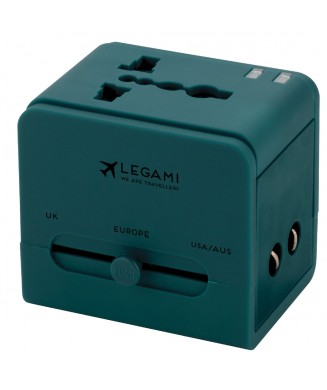 LEGAMI TRAVEL ADAPTER UNIVERSAL WORLD TA0005