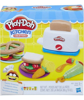 PLAY-DOH TOASTER CREATIONS E0039