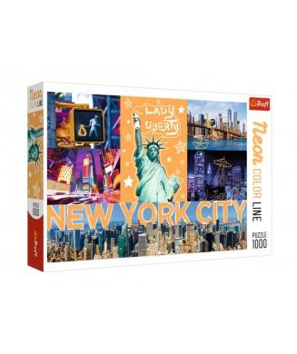 TREFL ΠΑΖΛ 1000 ΤΕΜ. NEW YORK NEON 10579