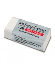 FABER-CASTELL ΓΟΜΑ DUST FREE ΛΕΥΚΟ 187130