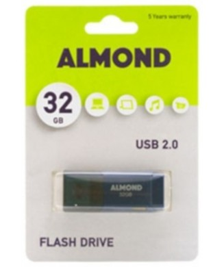 ALMOND USB 2.00 32GB ΜΠΛΕ