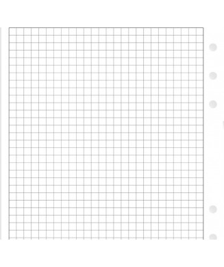 FILOFAX ΑΝΤΑΛΛΑΚΤΙΚΑ A5 WHITE QUADRILLE NOTEPAPER 342905