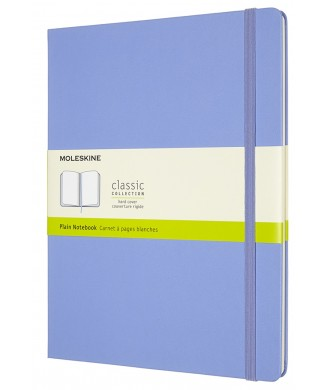MOLESKINE ΣΗΜΕΙΩΜΑΤΑΡΙΟ XLARGE HARD PLAIN CLASSIC HYDRANGEA BLUE