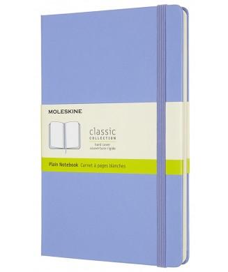 MOLESKINE ΣΗΜΕΙΩΜΑΤΑΡΙΟ LARGE HARD PLAIN CLASSIC HYDRANGEA BLUE