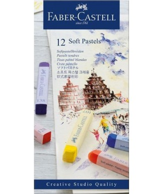 FABER-CASTELL SOFT PASTEL 12 ΤΕΜ. 128312