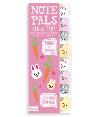 OOLY NOTE PALS STICKY TABS BUNDLE O BUNNIES 121-016