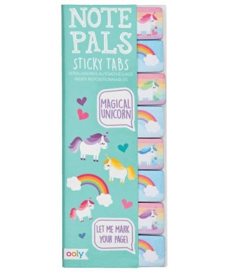 OOLY NOTE PALS STICKY TABS MAGICAL UNICORN 121-035