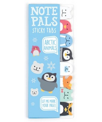 OOLY NOTE PALS STICKY TABS ARCTIC ANIMALS 121-008