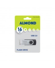 ALMOND USB STICK 16GB ΜΑΥΡΟ