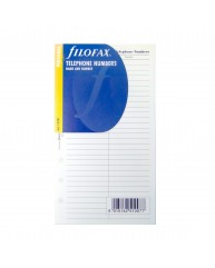 FILOFAX ΑΝΤΑΛΛΑΚΤΙΚΑ PERSONAL TELEPHONE NUMBERS 130207