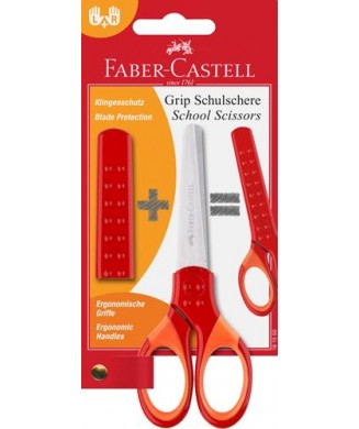 FABER-CASTELL ΨΑΛΙΔΙ GRIP ΠΟΡΤΟΚΑΛΙ 181550