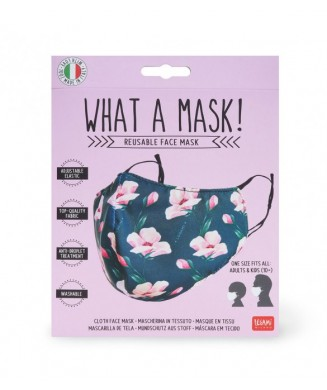 LEGAMI MASK POLYESTER 10+ YEARS FLOWERS MATE0002