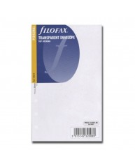 FILOFAX ΑΝΤΑΛΛΑΚΤΙΚΑ PERSONAL TRANSPARENT ENVELOPE 133612