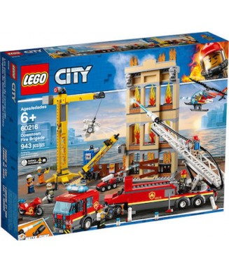 LEGO 60216 CITY DOWNTOWN FIRE BRIGATE