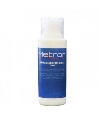METRON ΚΟΛΛΑ DECOUPAGE GLOSS 250ml 232.2.29010