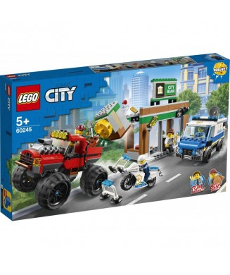 LEGO 60245 CITY POLICE MONSTER TRUCK HEIST