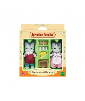 SYLVANIAN FAMILIES ΙΔΙΟΚΤΗΤΕΣ SUPER MARKET 5052