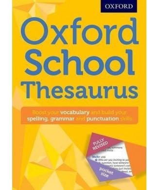 OXFORD SCHOOL THESAURUS POCKET