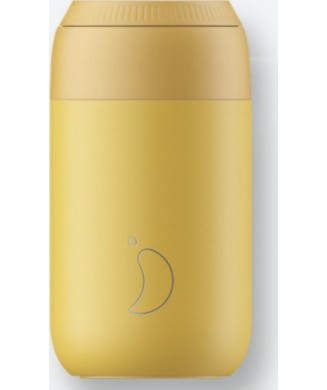 CHILLYS COFFE CUP 340ml POLLEN YELLOW