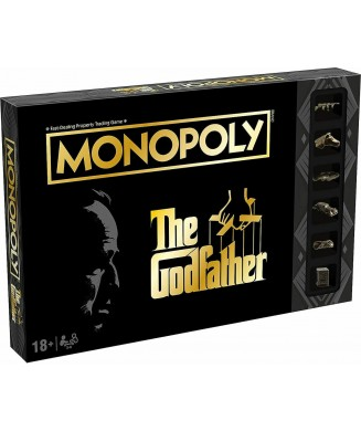 WINNING MOVES MONOPOLY THE GODFATHER (ENGLISH EDITION) WM00575