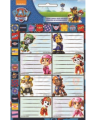 GIM ΕΤΙΚΕΤΕΣ HOT STAMPING PAW PATROL BOY 774-00449