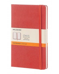 MOLESKINE ΣΗΜΕΙΩΜΑΤΑΡΙΟ RULED L HARD CLASSIC CORAL ORANGE