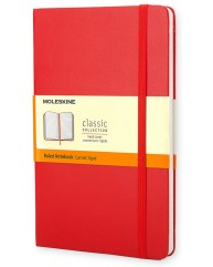 MOLESKINE ΣΗΜΕΙΩΜΑΤΑΡΙΟ LARGE HARD RULED CLASSIC RED