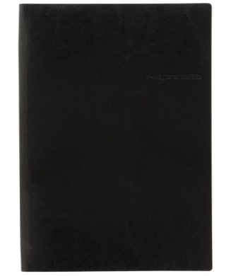 LETTS NOTEBOOK A4 LECASSA BLACK 090119
